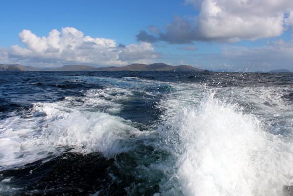 Überfahrt Skellig Michael mit dem Boot Kerry Irland