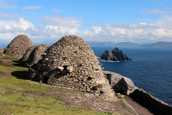 Beehive Huts Skellig Michael Unesco World Heritage Site