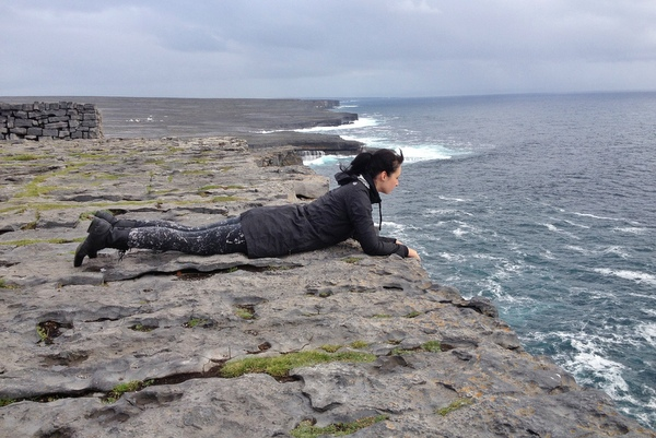 Klippen Aran Islands Inishmore Dun Aonghasa