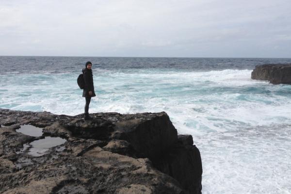 Klippen Aran Islands Westküste Irland Tagesausflug Galway