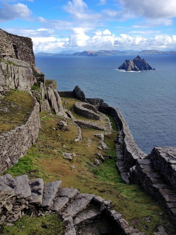 Kloster Insel Skellig Michael Irland