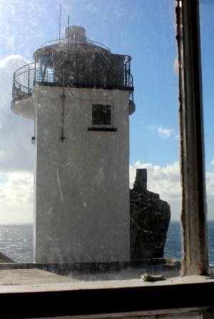 Skellig Michael Irland Leuchtturm