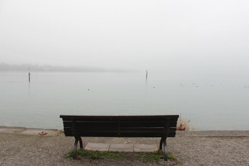 Bank Ufer Bodensee Konstanz