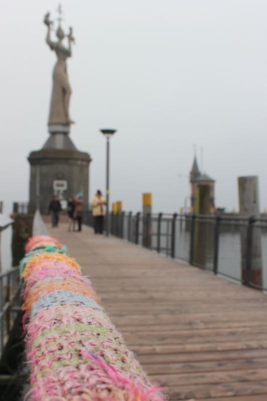 Imperia Konstanz Hafen Guerilla Knitting