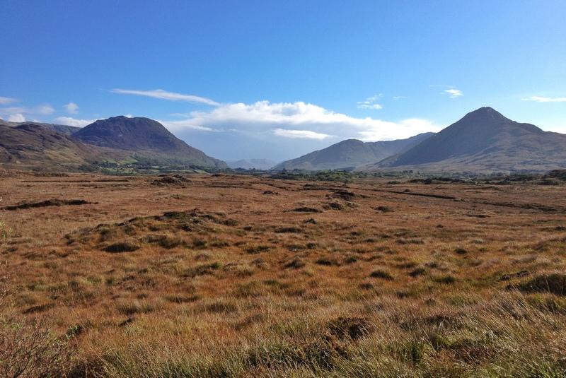 Landschaft Connemara Letterfrack Irland