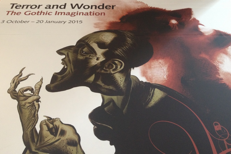 Terror and Wonder The Gothic Imagination British Library London Ausstellung