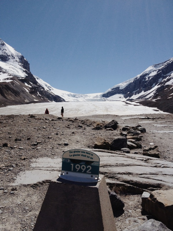 Athabasca Glacier Icefields Parkway Jasper