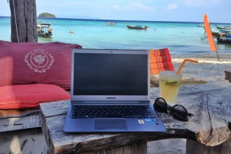 Arbeiten Thailand digitale Nomaden
