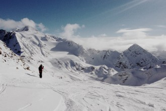 Stubaier Gletscher Skifahren
