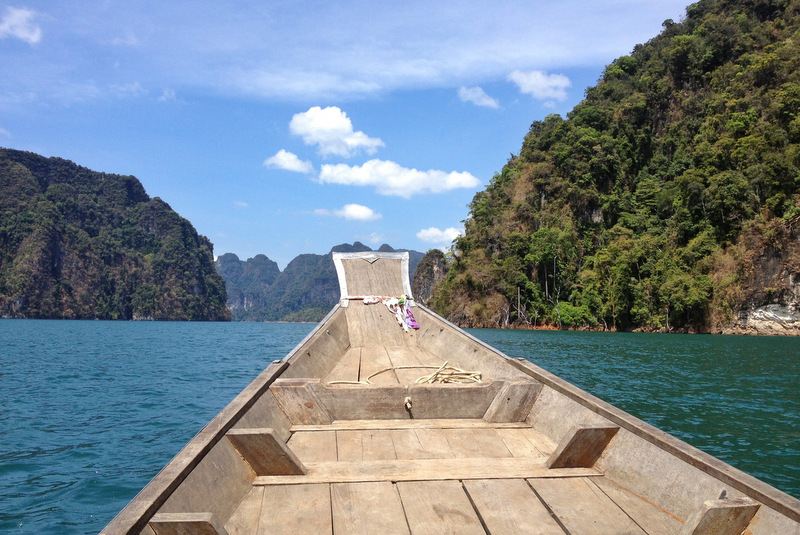 Longtail Boat Chiao Lan See Khao Sok