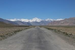 Pamir Highway near Karakul