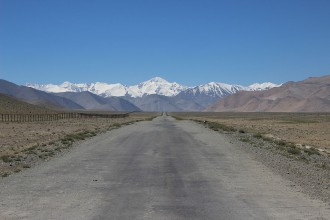 Pamir Highway near Karakul