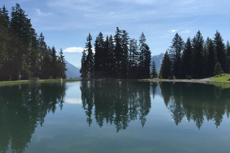 Bergsee Kitzbüheler Alpen Fieberbrunn Tirol