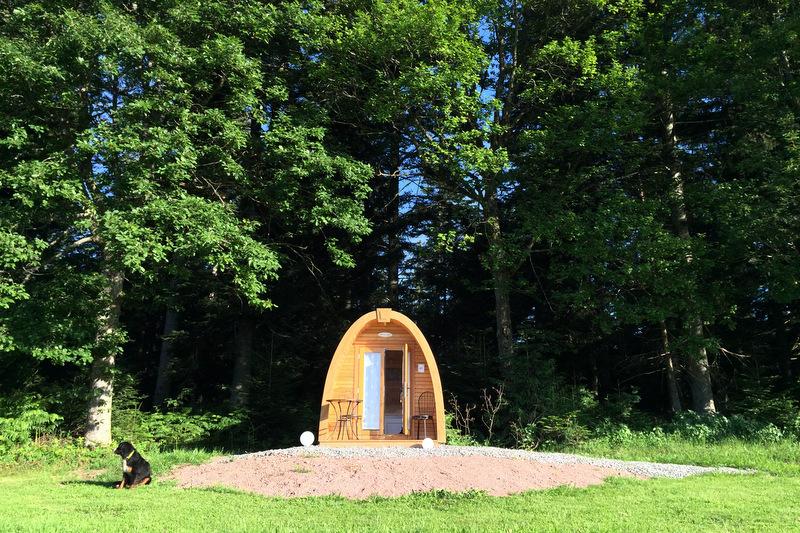 Glamping im Podhaus Äckerhof Schwarzwald