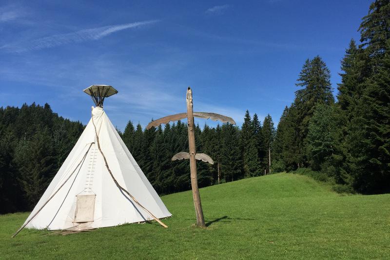 Tipi Dorf Äckerhof Schwarzwald