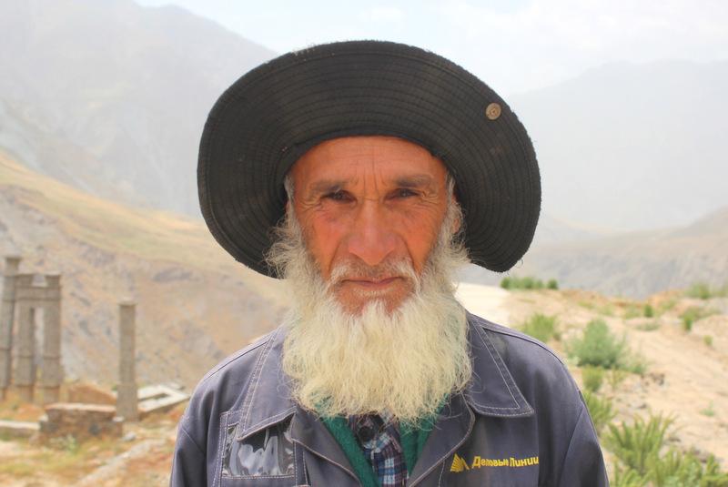 Alter Mann Pamir Tadschikistan
