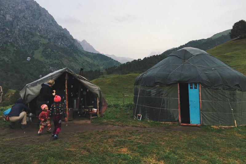 Jurte Alai Kirgistan