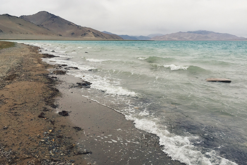 Karakul Lake Pamir Highway Tadschikistan