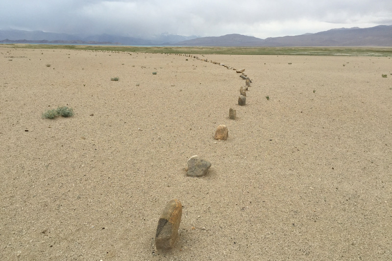 Karakul Lake Steinformationen Kalender