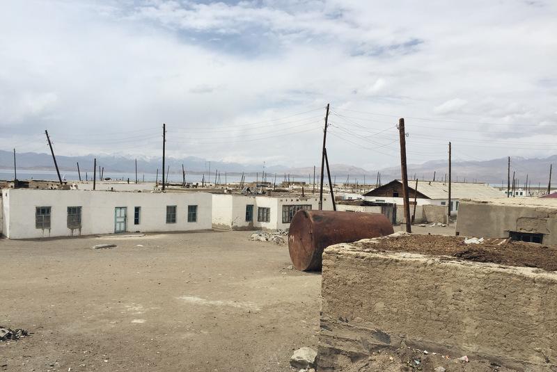 Karakul Village Pamir Highway Tadschikistan