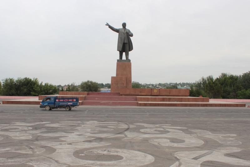 Lenin Statue Osh Kirgistan