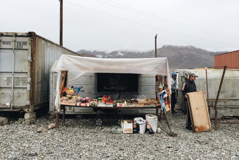 Markt Murghab Pamir Highway Tadschikistan