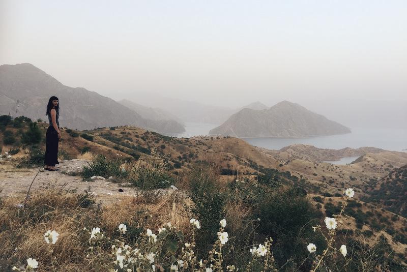 Norak Lake Reservoir Tadschikistan