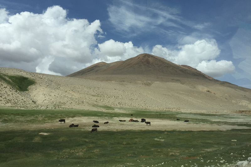 Pamir Highway Hochebene bei Alichur