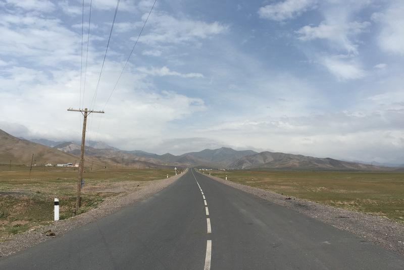 Pamir Highway Sary Tash Kirgistan