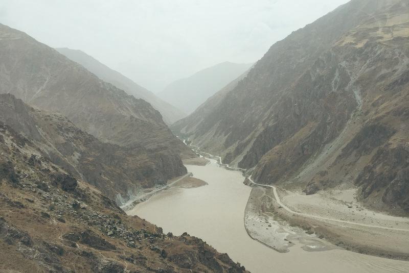 Pamir Highway Tadschikistan Grenze Afghanistan