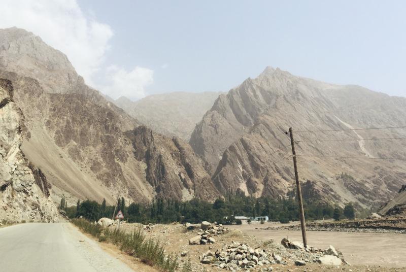 Pamir Highway afghanische Grenze