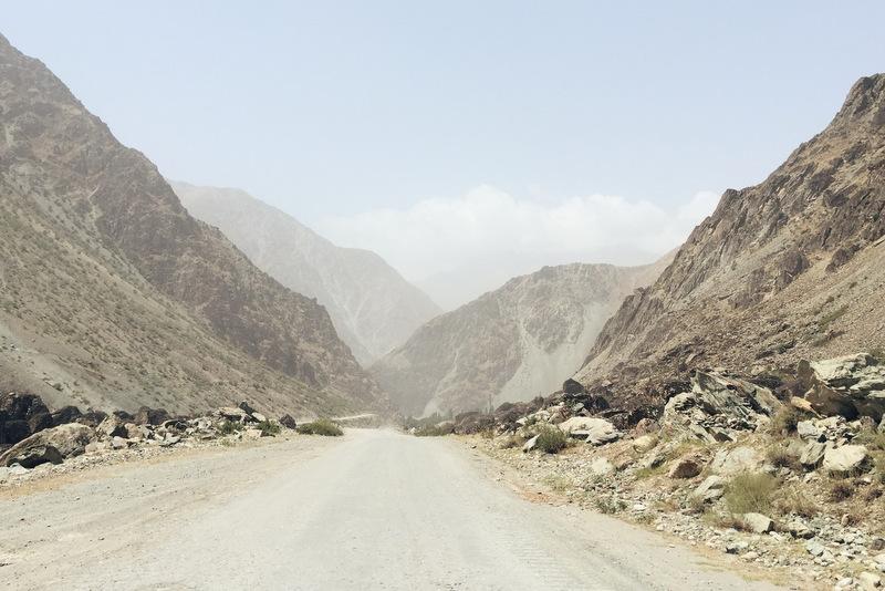 Pamir Highway vor Kalai Khumb Tadschikistan