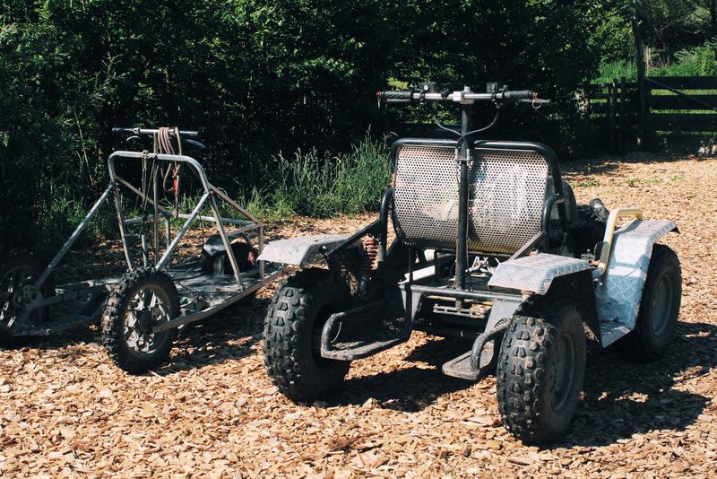 Schlittenhunde Sommer Cart