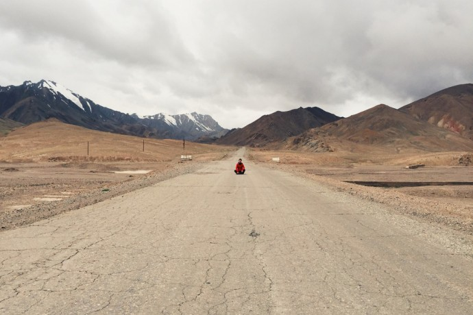 Susi Maier Black Dots White Spots Pamir Highway