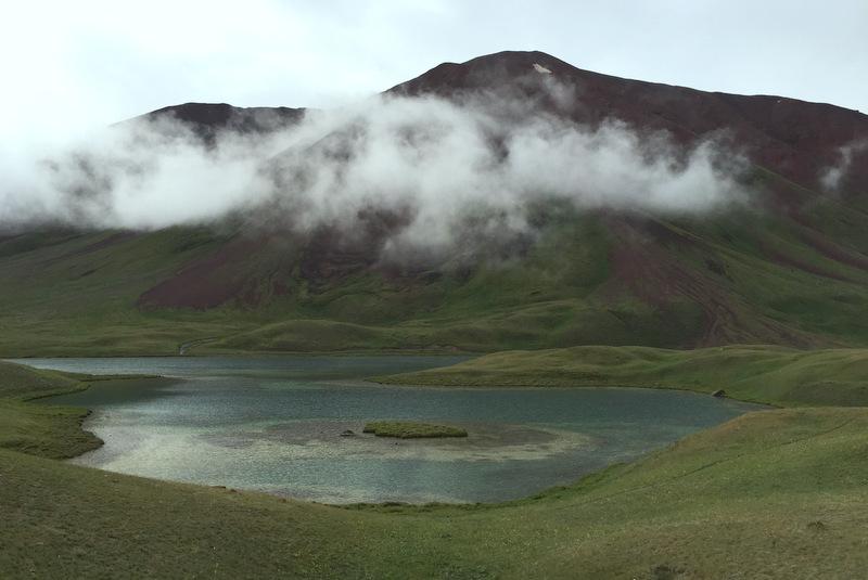 Tulpar Lake Berge Transalai Kirgistan