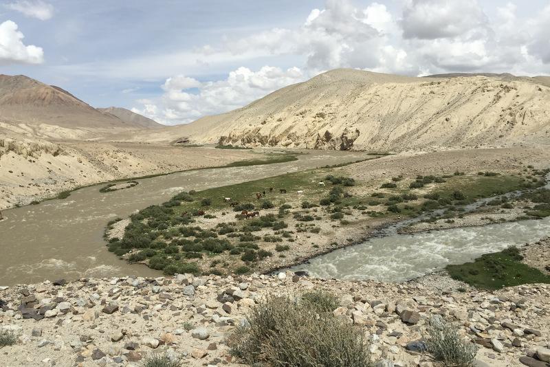 Wüste Pamir Highway Tadschikistan