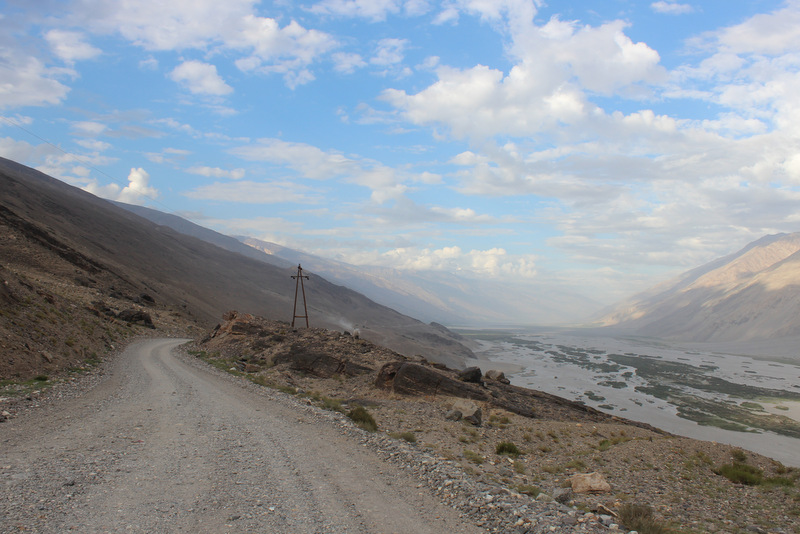Wakhan Valley Road Pamir Tadschikistan