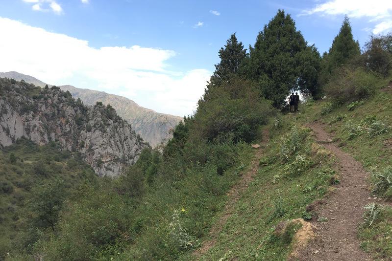 Wandern Alai Gebirge Kirgistan