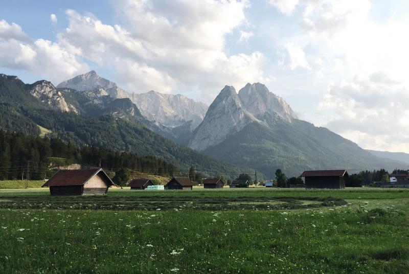 Abendstimmung Garmisch Partenkirchen