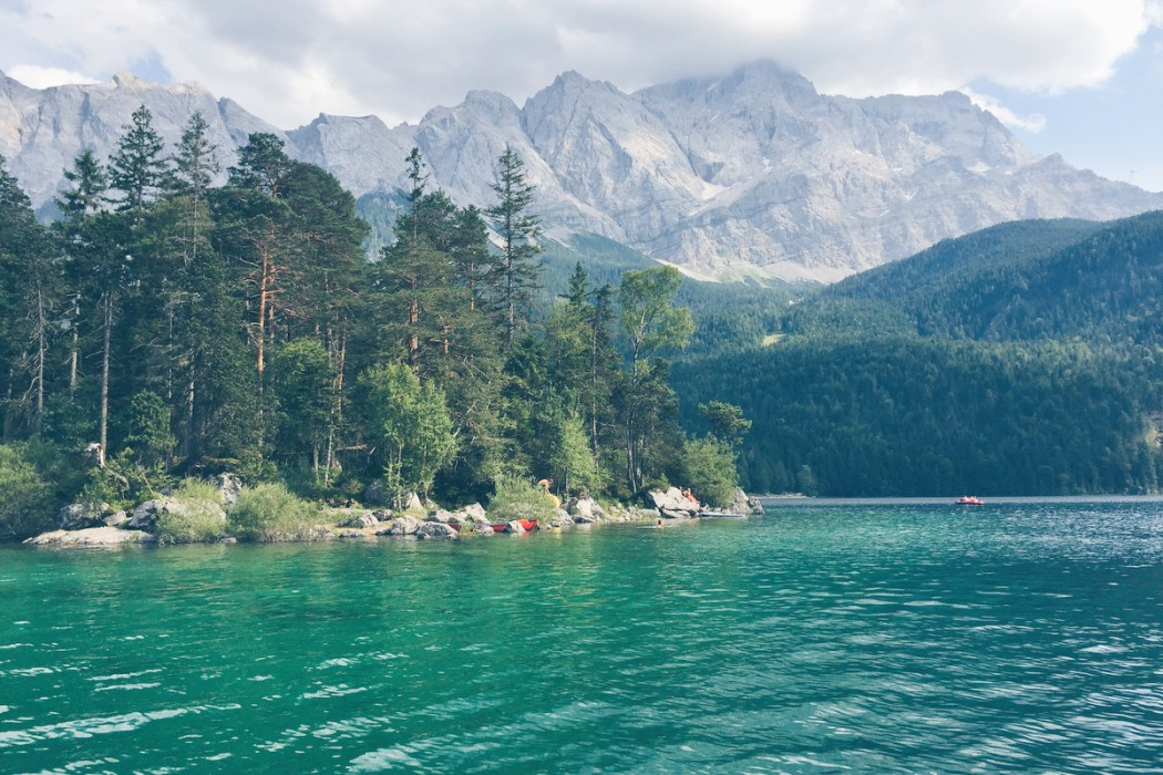 Ausflugstipp - Eibsee und Zugspitze