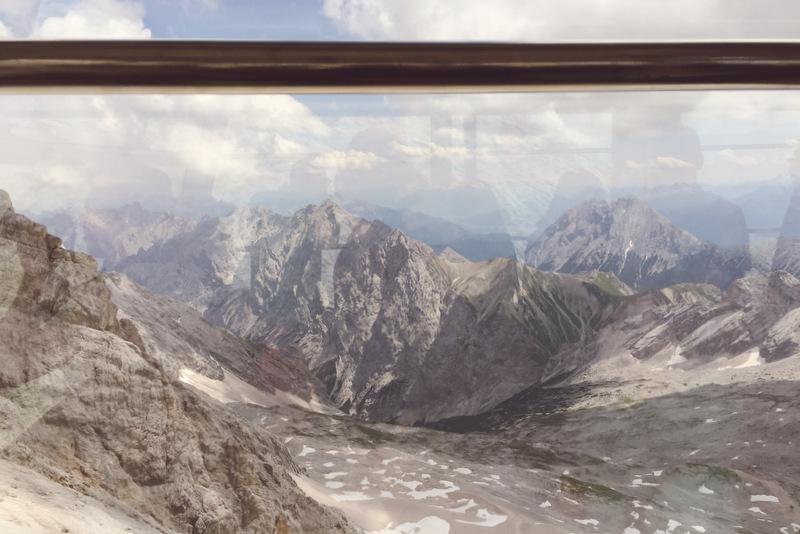 Gletscherbahn Zugspitze Gondel