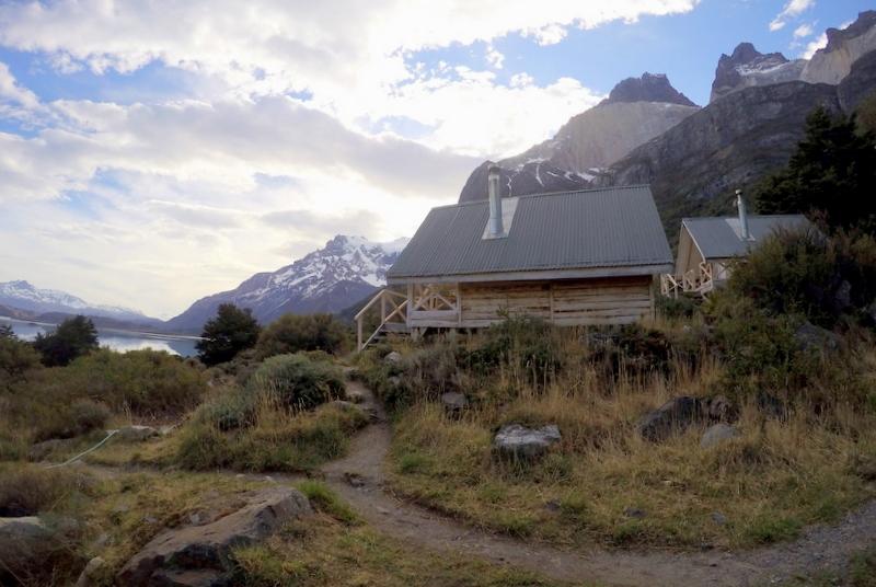 Cabana übernachten Torres del Paine