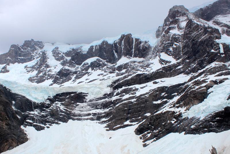 French Glacier Paine Grande Patagonia