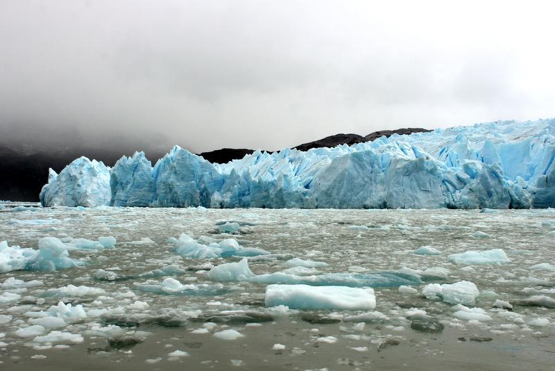 Glacier Grey Patagonien Torres del Paine