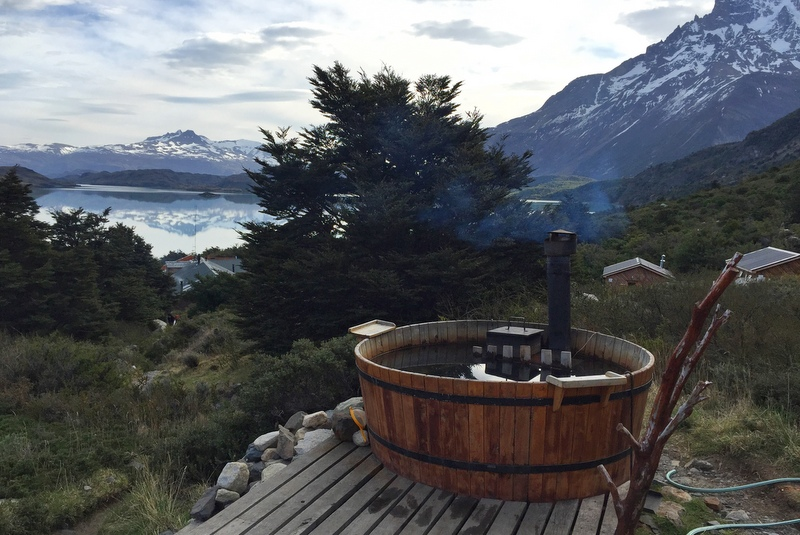 Hot Tub Refugio Los Cuernos Torres del Paine