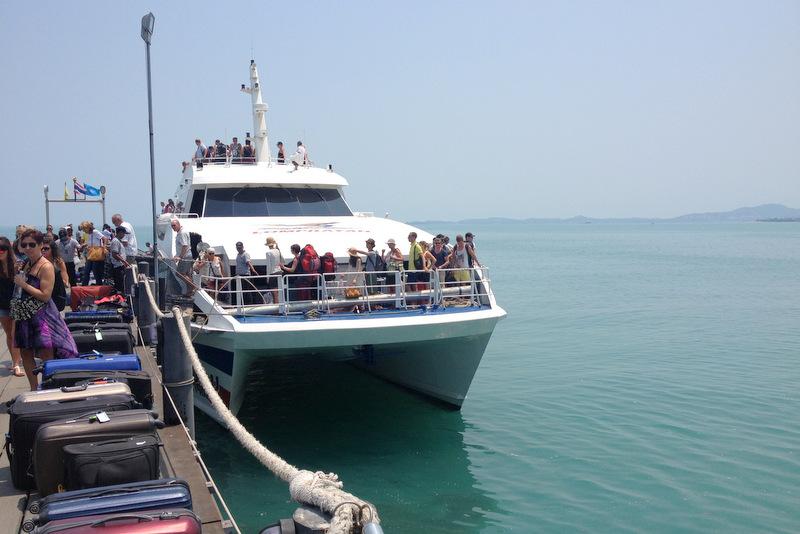 Inselhopping Golf von Thailand Fähre