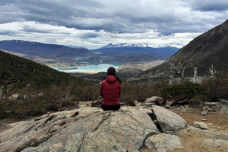Mirador Lookout French Glacier W Circuit Torres del Paine