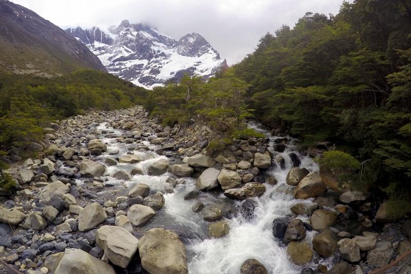 Paine Grande French Glacier Bach