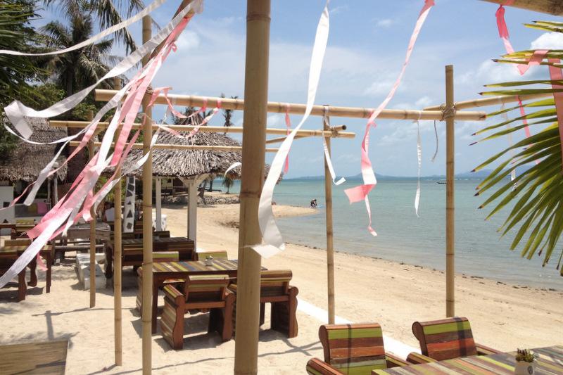 Strandbar Milky Bay Koh Phangan Thailand