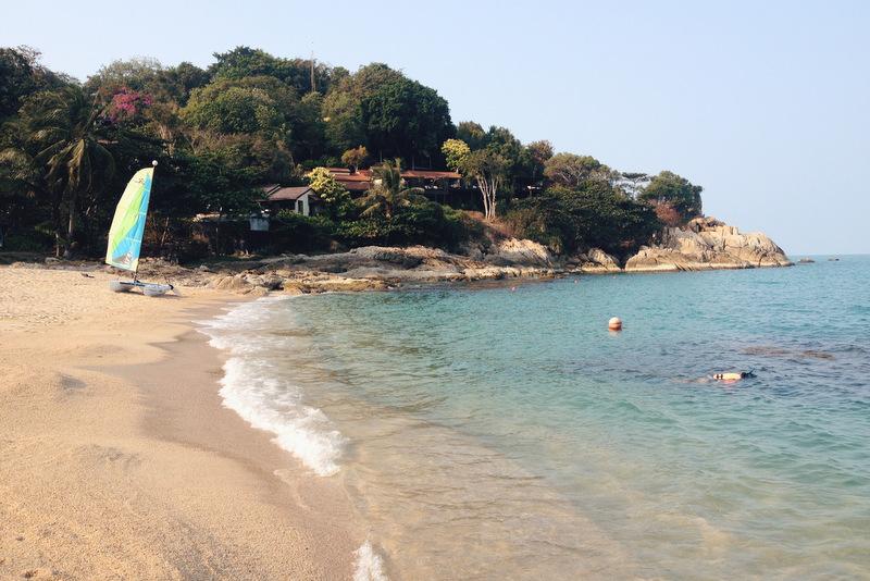 Tongsai Bay Resort Koh Samui Bucht Strand